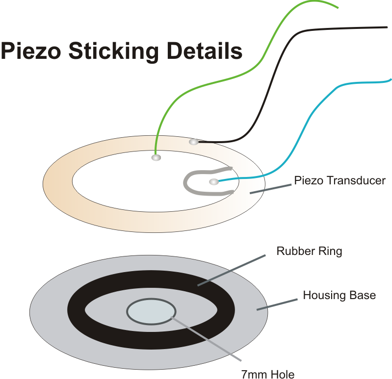 simple buzzer circuit piezo electric buzzer explained how to stick piezo