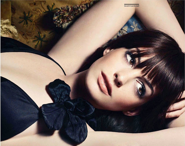 Smartologie Anne Hathaway For Amica Magazine Italy