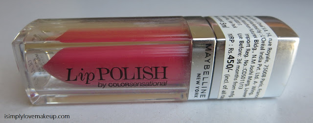 Maybelline Lip Polish Glam 2 Review Swatches