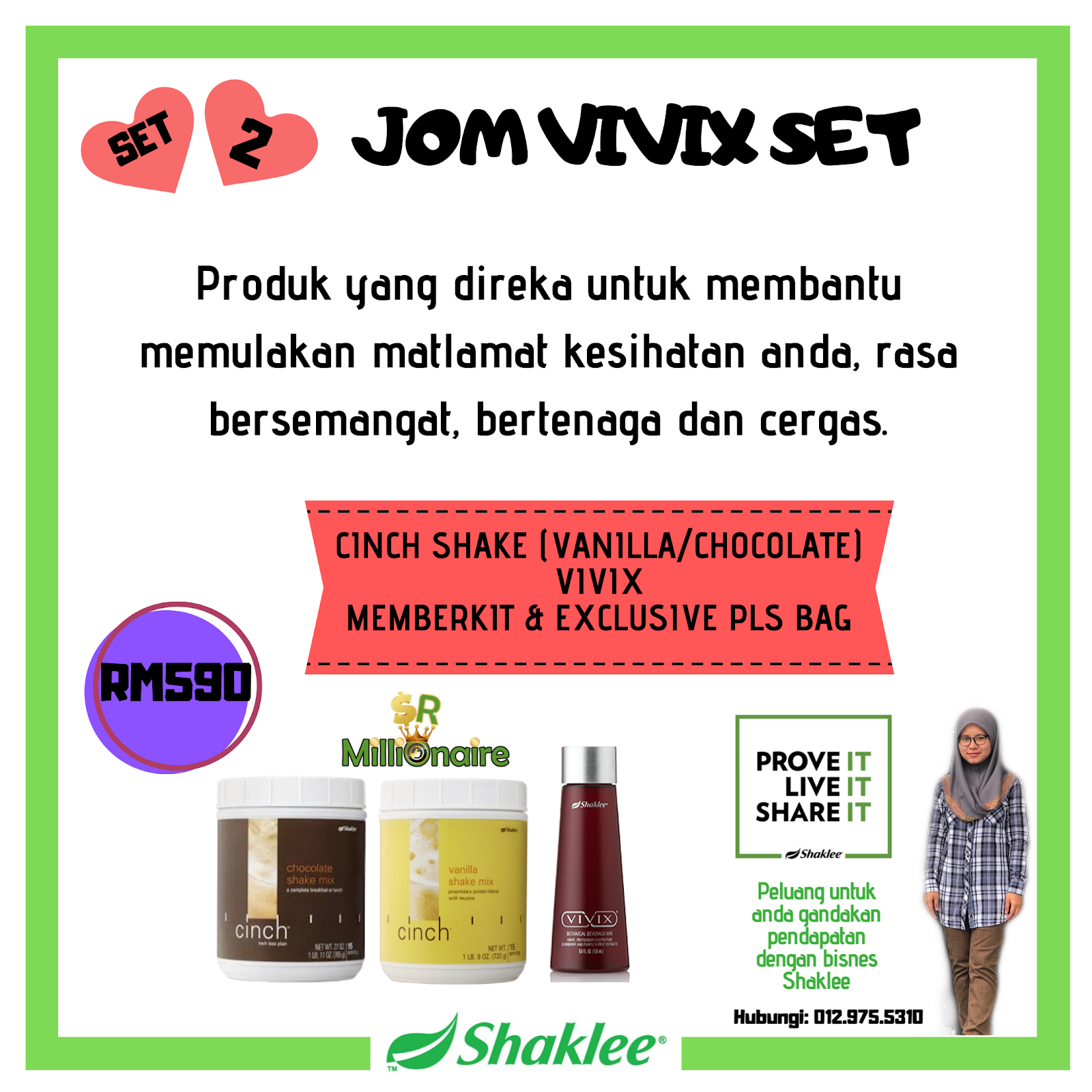 Jom Vivix Set