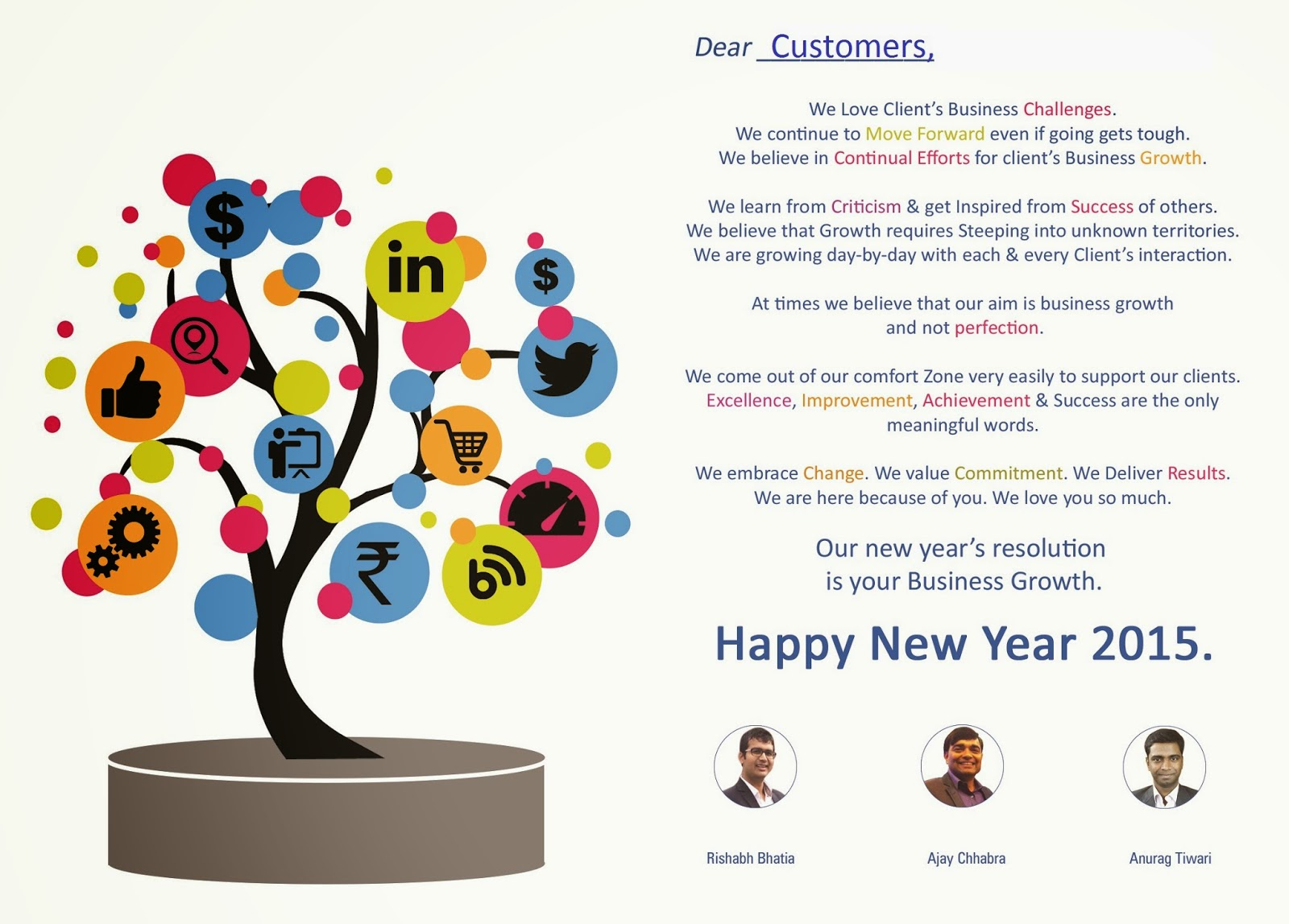 new year 2015 resolution from a3r digital pvt ltd