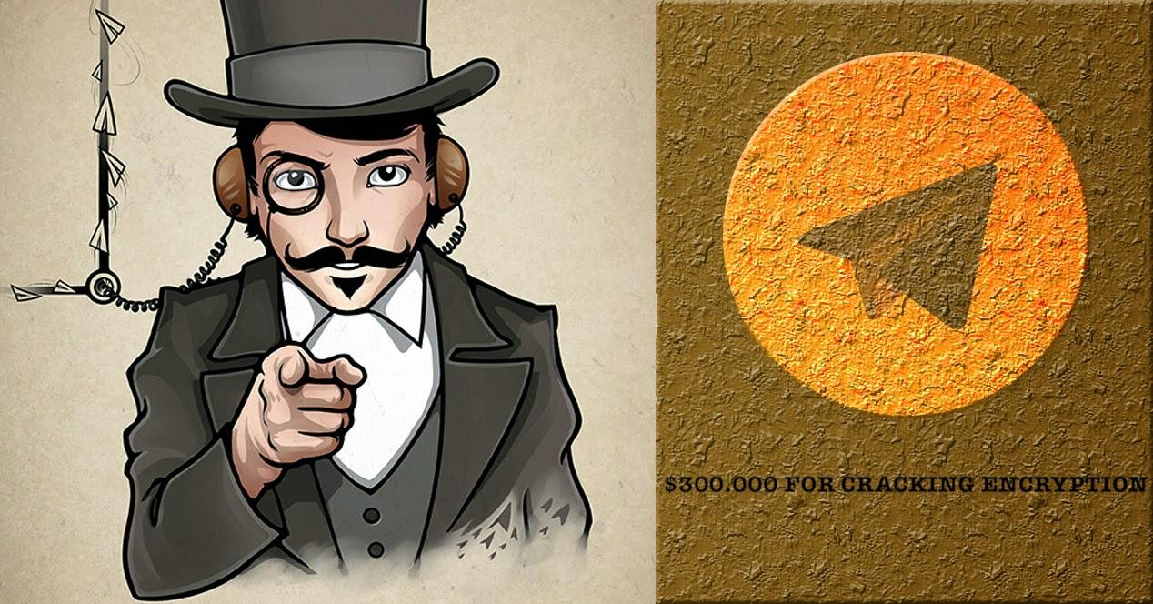 ¿Quieres 300.000 dólares? Sólo tienes que crackear Telegram