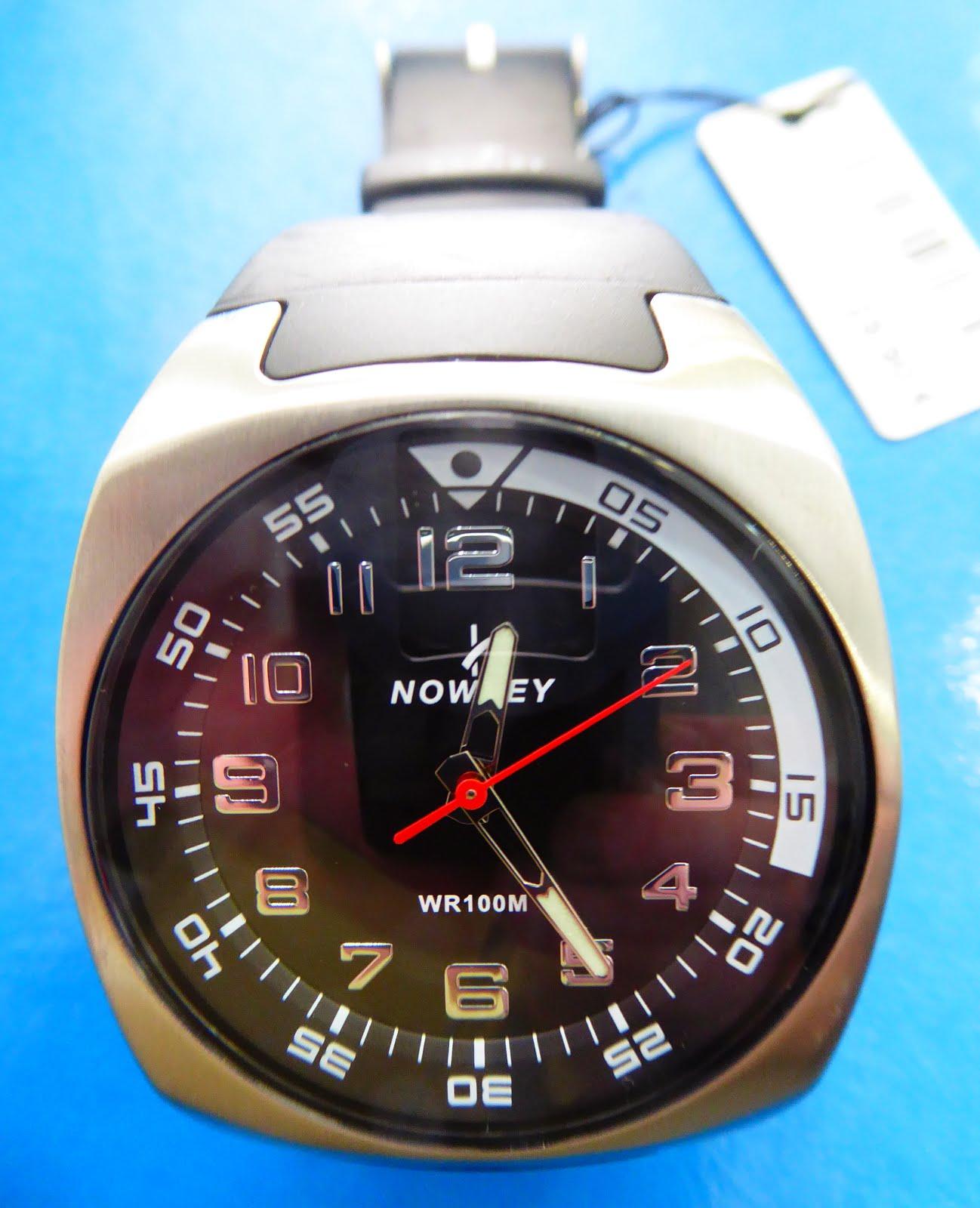 Reloj Nowley. WR 100. Acero Inox