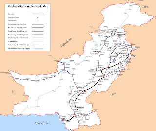 Pakistan-Railways-Network-Map