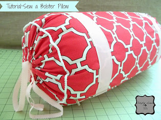 Tutorial for Bolster Pillow
