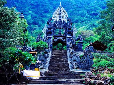 Pura Pulaki, pulaki temple, hindu temple in bali