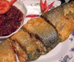 Resep Cara Membuat Ikan Bandeng Goreng Sambal Pedas
