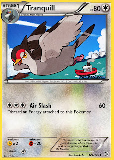 Tranquill Boundaries Crossed Pokemon Card