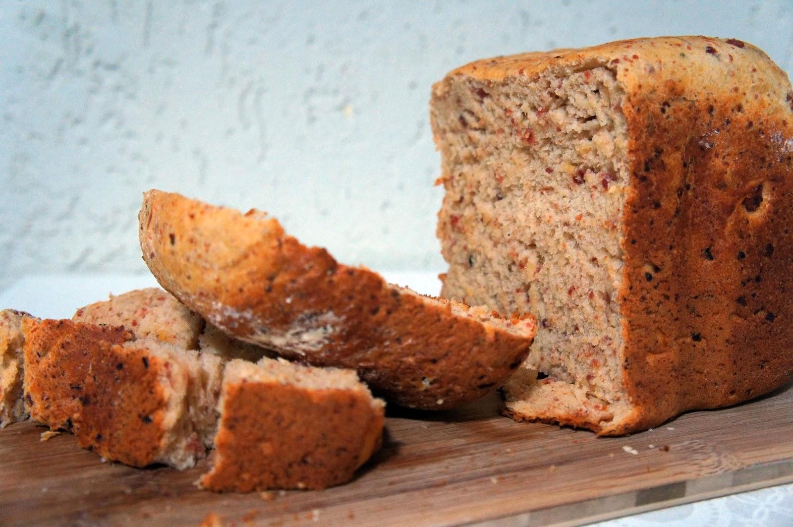 Pão de calabresa e queijo [máquina de fazer pão]