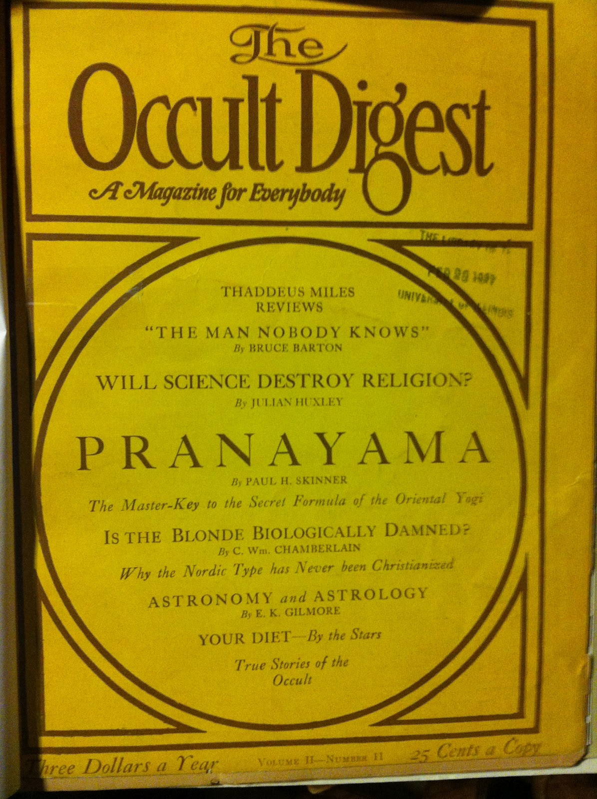 Occult Chicago: The Occult Digest