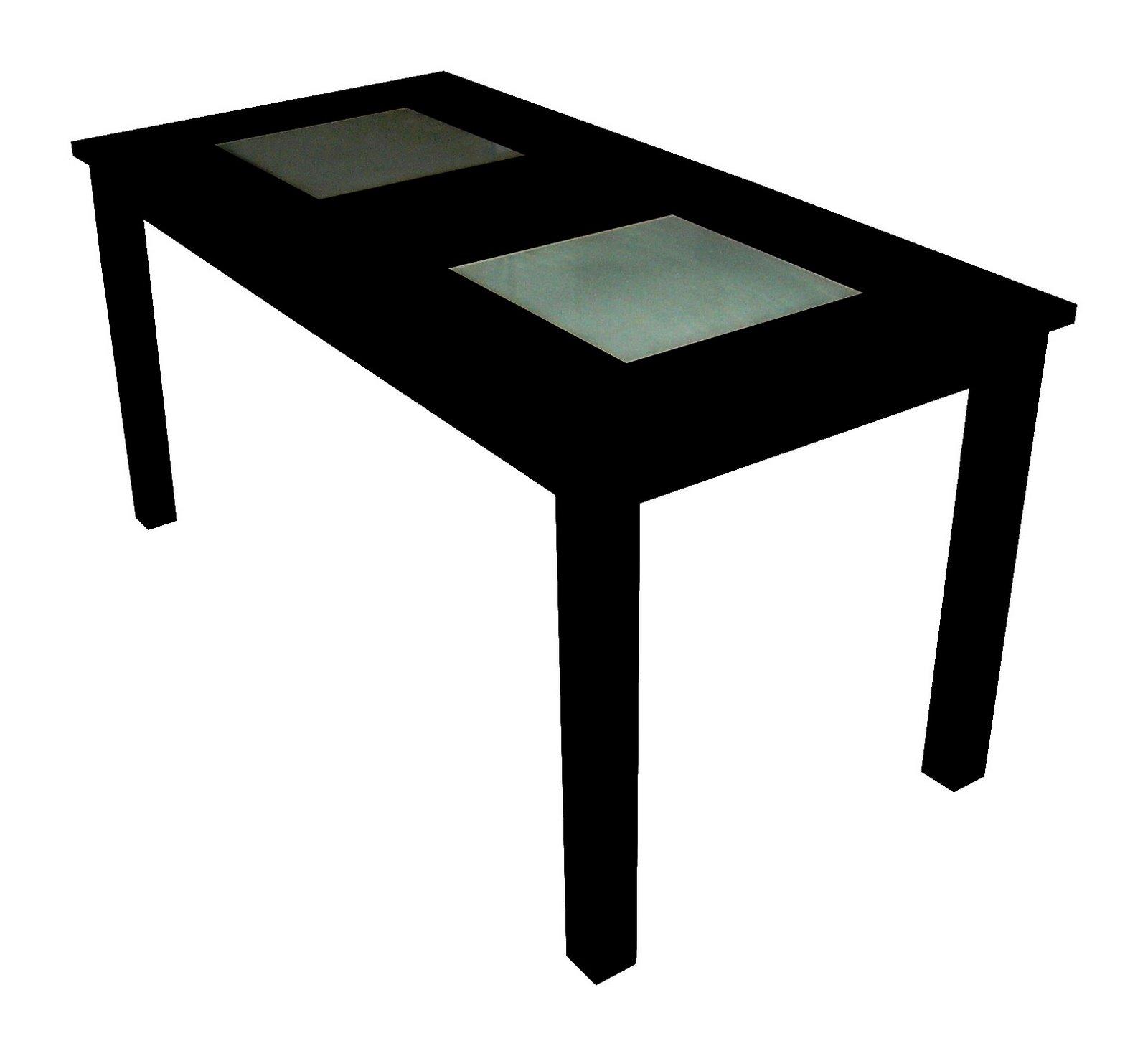 macizo galvanizado) Tapa de madera o de vidrio Tapa de melamina en