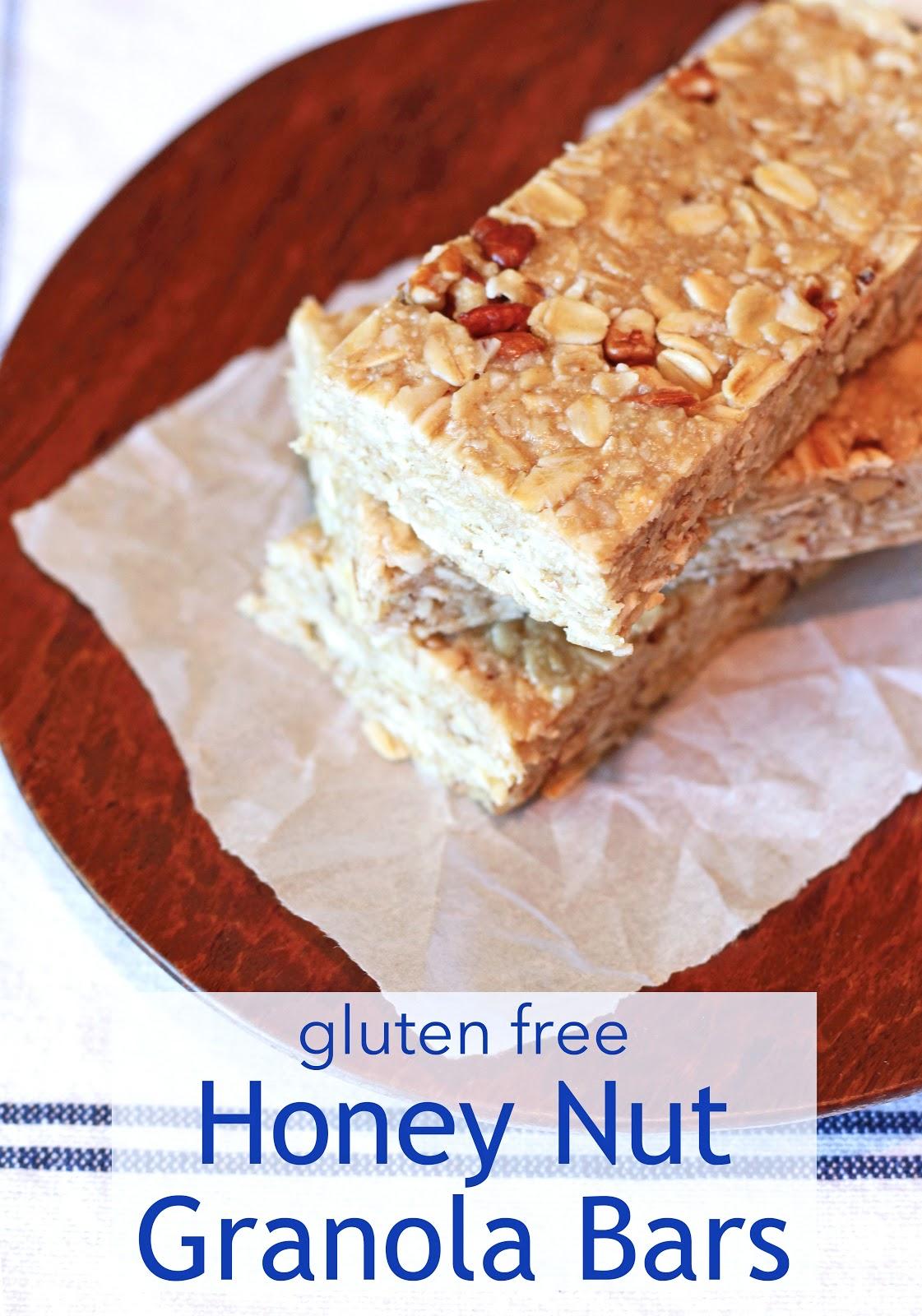 guest post...gluten free honey nut granola bars - Sarah ...