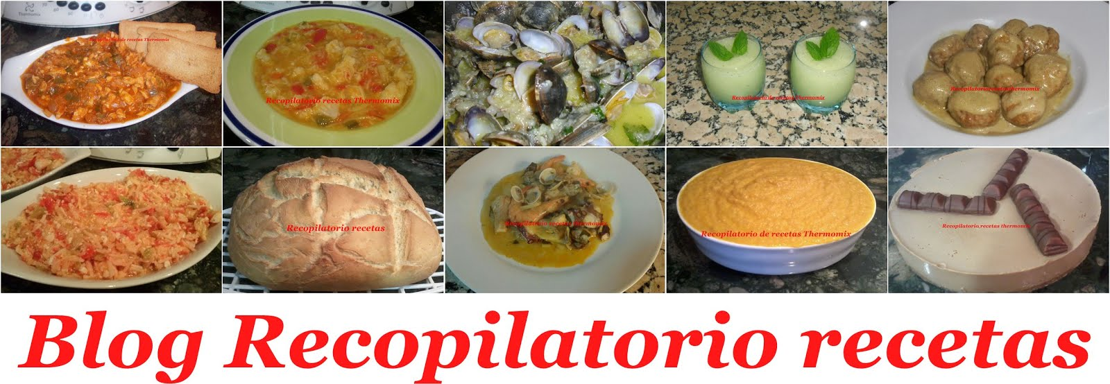 Blog Recopilatorio recetas Thermomix