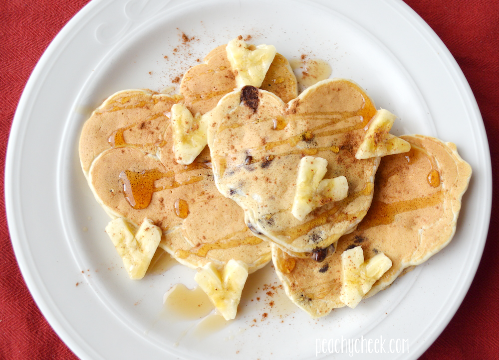 this weekends pancakes took a heart shaped theme for valentine s day i ...