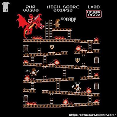 El rescate de Lyanna a lo Donkey Kong - Juego de Tronos en los siete reinos