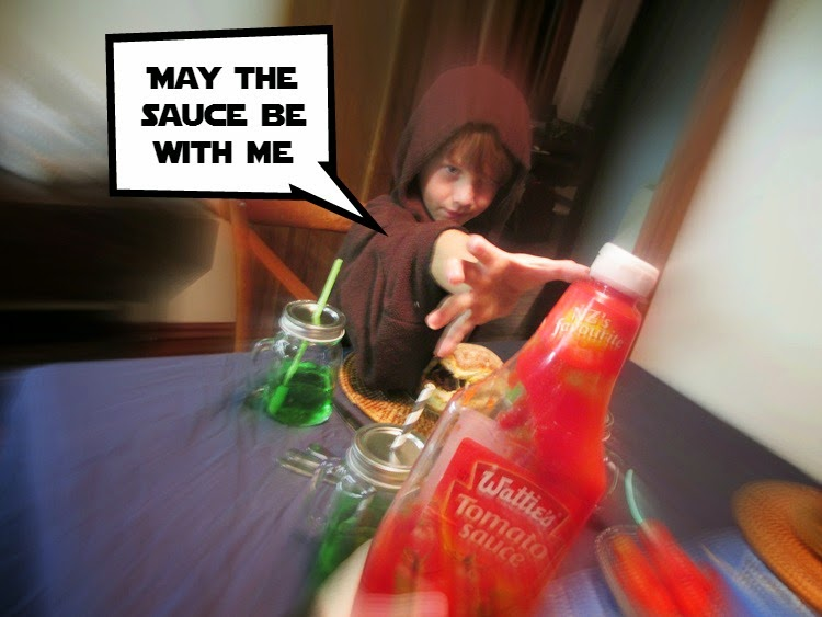 May the Sauce be with me