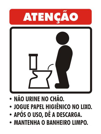 Blog do Edson Joel O recado do banheiro -> Recado Banheiro Feminino