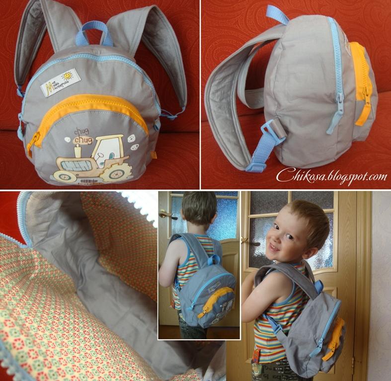 Сшить рюкзак детский