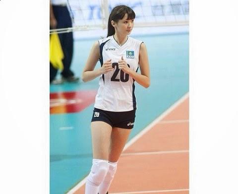 Kumpulan Foto Sabina Altynbekova si Atlet Voli Cantik