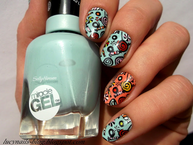 Sally Hansen Miracle Gel nr 240 B Girl