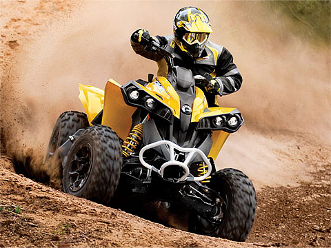 2013 Can-Am Renegade 800R ATV pictures. 480x360 pixels