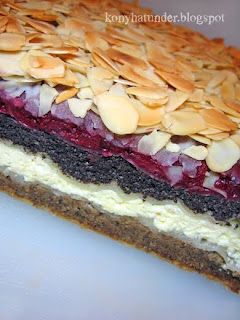 walnut-cheese-poppy-cherry-layered-sweet-pastry