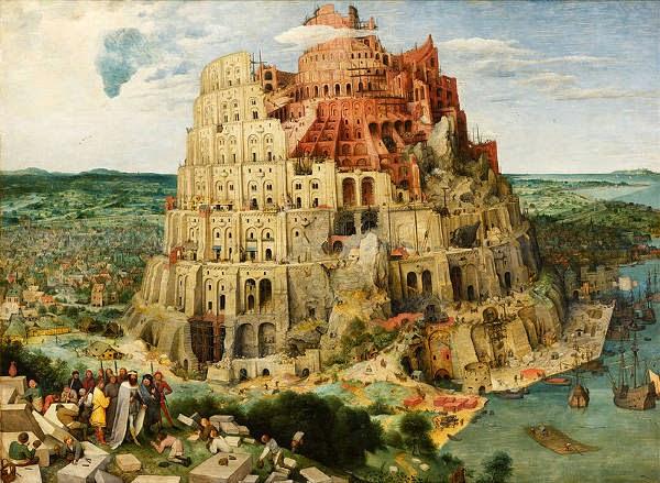 Raja Namrud, Menara Babel