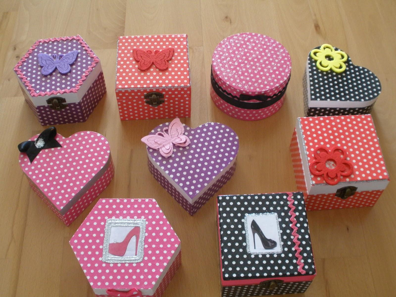 Las cosas de mi tata cajas fashion - Cajas decoradas a mano ...