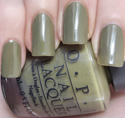Uh-Oh Roll Down The Windows, OPI Touring America, swatch