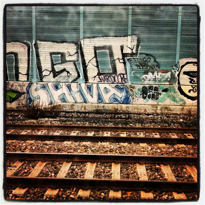 """Graffiti & Railway"" Instagram Picture"