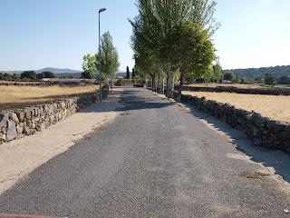 Santibañez, Camino de la ermita