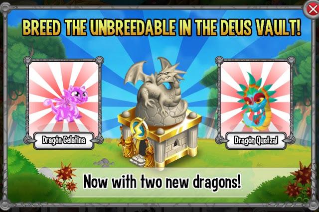 dragon gelatina y dragon quetzal 2 nuevos dragones en la cripta de deus
