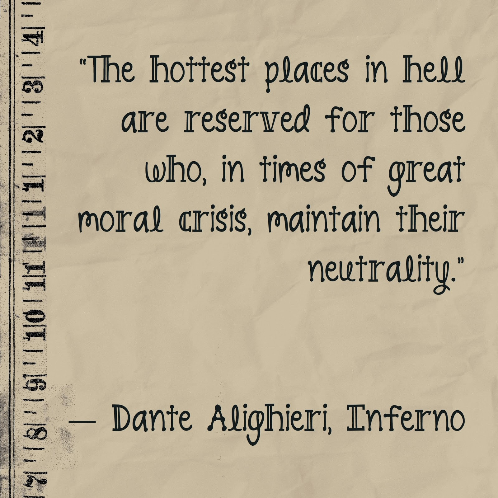 Dante Quotes Never Cease 2 Learn A Moral Crisis