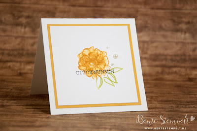 Stampin Up SAB Sale-a-bration Stempelset was ich mag Eins für alles what i love color