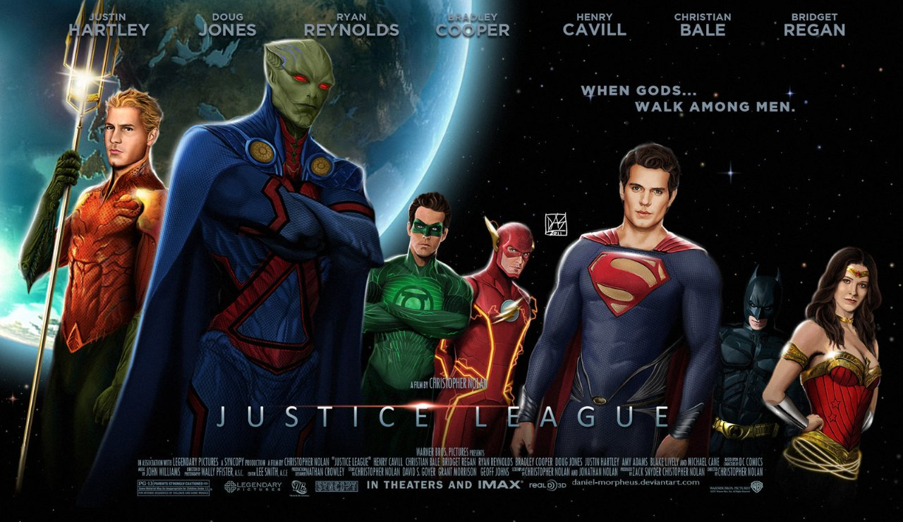 Justice League Fan made poster