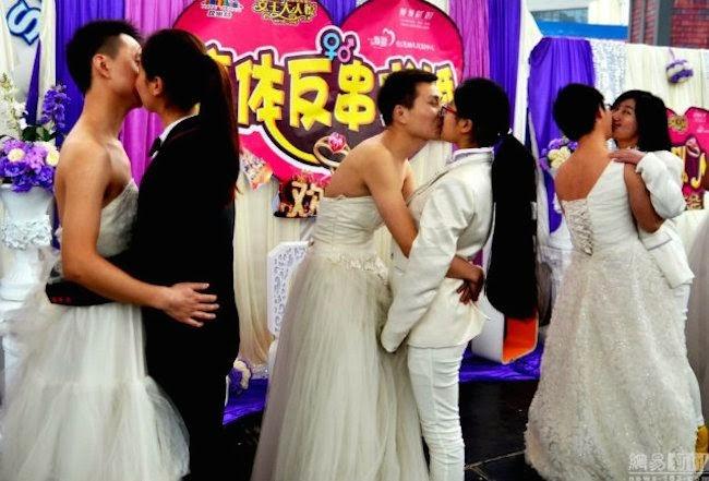 CROSS-DRESS MARRIGE