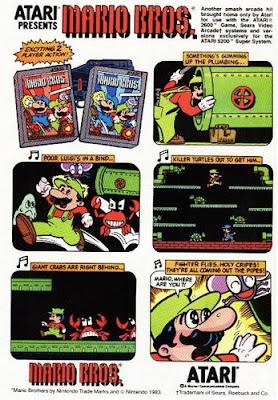 Anuncios antiguos de videojuegos