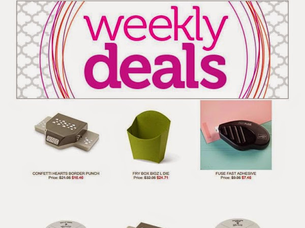 Weekly Deals Time!