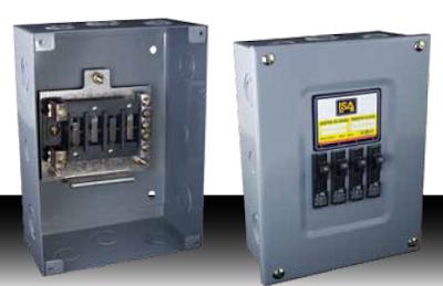 Instalaciones eléctricas residenciales - centro de carga 4 espacios