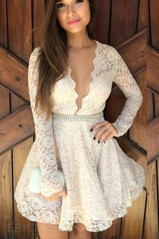 http://www.ericdress.com/product/Ericdress-Sexy-Sweet-Lace-V-Neck-Dress-11246530.html