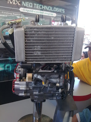 YAMAHA SNIPER MX 2011 ENGINE