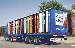 Ritter chocolate lorry