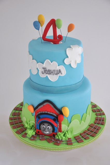 rozanne s cakes two tier thomas the train cake on birthday cakes durbanville cape town