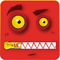 monster zipper theme for go locker apk