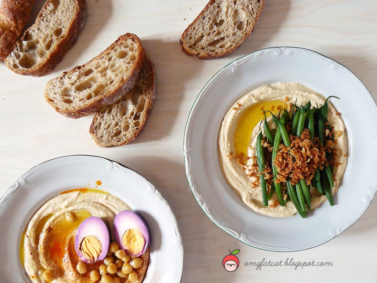 hummus przepis recipe