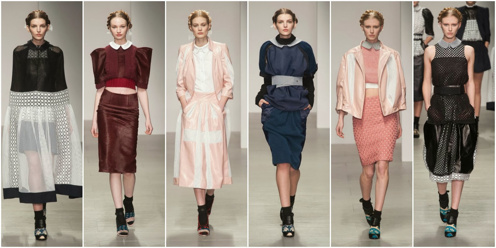 Bora Aksu AW14 Collection Show London Somerset House Review Autumn Winter 2014