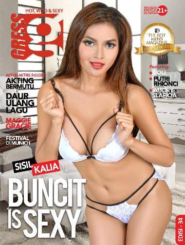 Majalah GRESS Magazine ED. 34 - Januari 2016 Sisil Kalia, Loli, Putri Rhioncie, Audrey Slafiqa | www.insight-zone.com