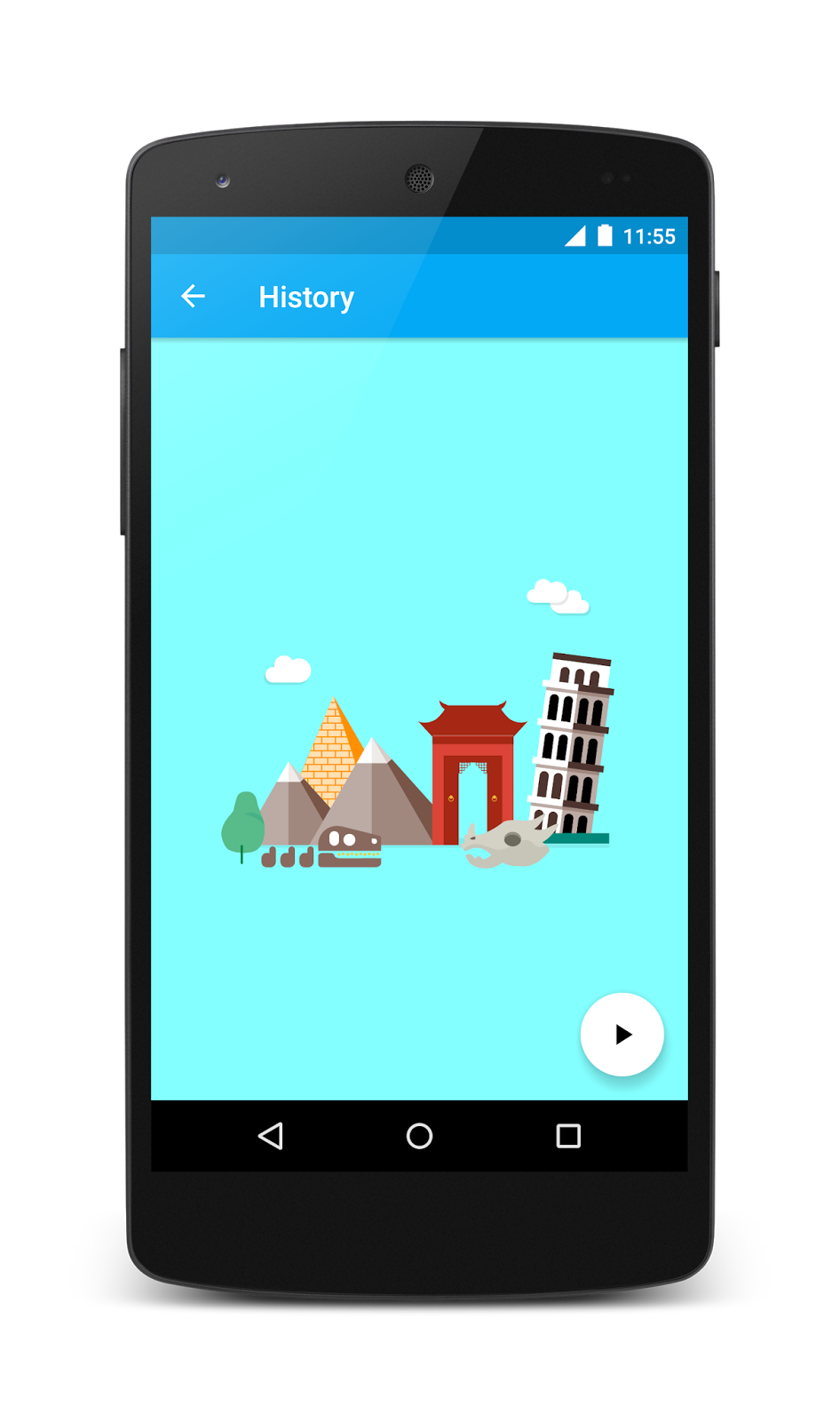Example The Android Version Of Topeka It Demonstrates That Same Branding And Material Design Principles Can Be Used To Create A Consistent