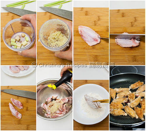 Thai Maggi Chicken Wings  Procedures