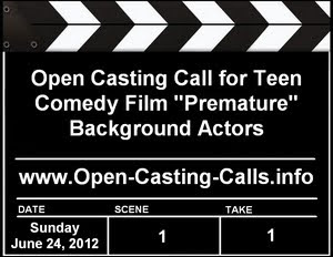 Feature Film Premature Open Casting Call